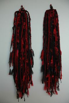 Morganna Yarn Hair Falls. $52.00, via Etsy.