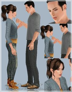 Passion poses by OfElena - Sims 3 Downloads CC Caboodle