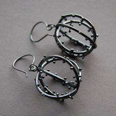Alisa Miller - orbit earrings