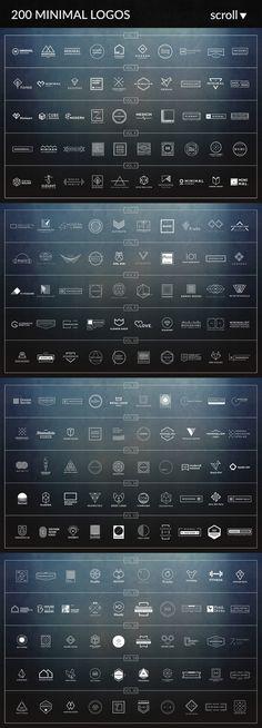1000 Logos & Badges SALE by Vector Heaven on @creativemarket