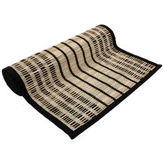 Just Home Royal Black Runner | Briscoes NZ Black Runners, Beach Mat, Outdoor Blanket, Coconut, Rustic, Contemporary, Stylish, Tableware, Shop