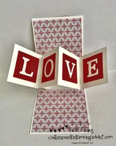 Inside of card Valentine Pop and Twist Card Lorri Heiling Sealed with Love Bundle Created by Jeanette Weeks