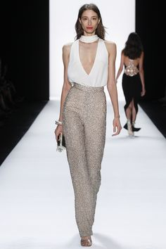 【ρinterest: LizSanez✫☽】 #NYFW Badgley Mischka Spring 2016 Ready-to-Wear Fashion Show