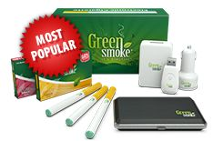 Feel great about what you smoke with an electronic cigarette starter kit from Green Smoke®. It's the easiest and most economical way to make the switch to e-cigarettes. Our starter kits contain everything you need for an unmatched smoking experience.