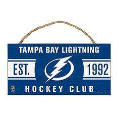 "NHL Tampa Bay Lightning Wood Sign with Rope, 5 x 10"", Team Color WINAV http://www.amazon.com/dp/B00VNM5OSM/ref=cm_sw_r_pi_dp_ZS18vb1BMJWGX"