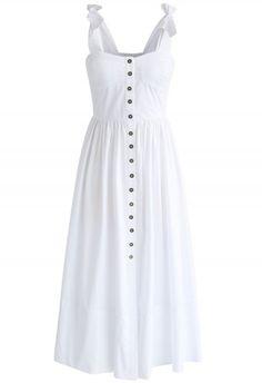 Dashing Darling Cami Dress in White