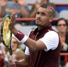 """John McEnroe says he """"can't condone'' the behavior of tennis' new bad boy, Nick Kyrgios. He says Kyrgios has gone """"too far,'' that his bad behavior had diminishing returns and he'd like to offer Kyrgios some advice..."""