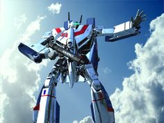 VF-1J 3D by asgard-knight.deviantart.com on @deviantART