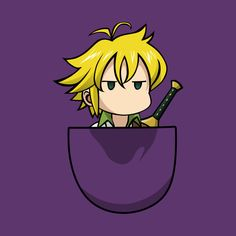 Shop Meliodas seven deadly sins t-shirts designed by zerooneproject as well as other seven deadly sins merchandise at TeePublic. Anime Chibi, Kawaii Anime, Manga Anime, Seven Deadly Sins Anime, 7 Deadly Sins, Seven Deadly Sins Tattoo, Anime Angel, Otaku Anime, Anime Guys