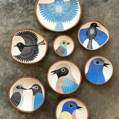 Login - I finished decorating all the bisqued bowls I had. Now I need to tackle three jars, glaze everythin - Pottery Plates, Ceramic Plates, Ceramic Pottery, Pottery Painting, Ceramic Painting, Ceramic Art, Linolium, Paperclay, Sgraffito