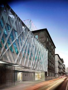 ¡Una fachada espectacular!