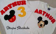 Resultado de imagem para camiseta mickey feltro