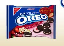 Japan OREO Soft Cookies with Strawberry Filled Cream - Limited Products
