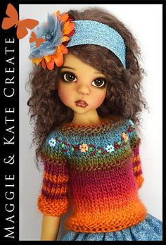 OOAK-Colorful-Outfit-for-Kaye-Wiggs-18-MSD-BJD-by-Maggie-Kate-Create