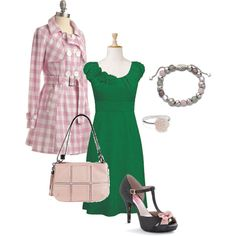 """St. Patrick's Day Sweetie Outfit"""