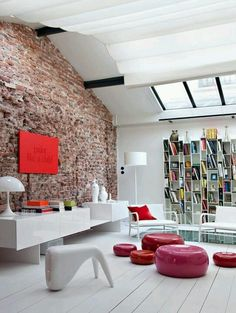 30 Cool Grunge Interior Designs---  I love these shiny things...