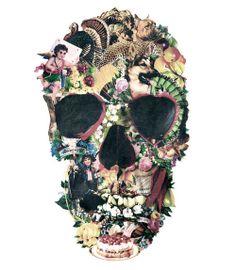 Camisetas Vandal - Vintage Skull