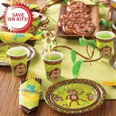 Cheeky Monkey party