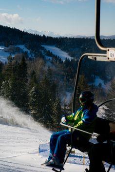 #Winter in #Małopolska. Dwie Doliny Ski Station, Wierchomla, #Poland. Ski Station Directory: domalopolski.pl/