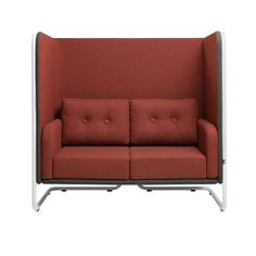 MR. SNUG HIGH | PLAN@OFFICE Office Environment, Retro Look, Be Perfect, Workplace, Snug, Love Seat, Couch, Furniture, Home Decor