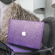 Apple MacBook Pro Laptop - (May, Silver) for sale online Purple Love, All Things Purple, Girly Things, Coque Macbook, Macbook Laptop, Mac Laptop, Apple Laptop, Apple Iphone, Laptop Computers