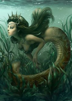 #Mermaid #Mythical #Fantasy #Creature