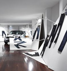 Mini Paceman concept store by Edwards Moore Mebourne