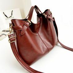 stacy bag women leather handbag female vintage messenger bag good quality ladies single shoulder bag briefcase business bag $12.00