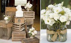 Pinterest.com pajareras   glass jar decoration ideas wedding   Wedding Decor Ideas / centerpiece ...