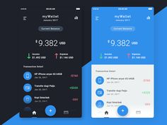 Finance App Visual Exploration designed by Ahmad Nurfawaid for Sebo . Connect with them on Dribbble; the global community for designers and creative professionals. Mobile Ui Design, App Design, Finance, Mobile App Ui, Thing 1, Application Design, Ui Inspiration, Interactive Design, Blockchain