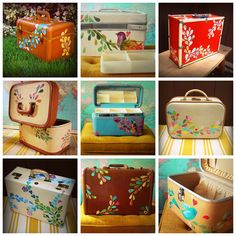Upcycle Train Case ideas