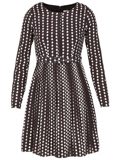 Meya Graphic Dress