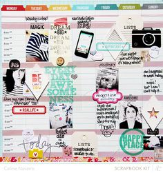 #scrapbook layout by #celinenavarro