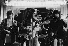 Eric Clapton, John Lennon, Mitch Mitchell & Keith Richards