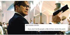 Kingsman + Tumblr Text Posts
