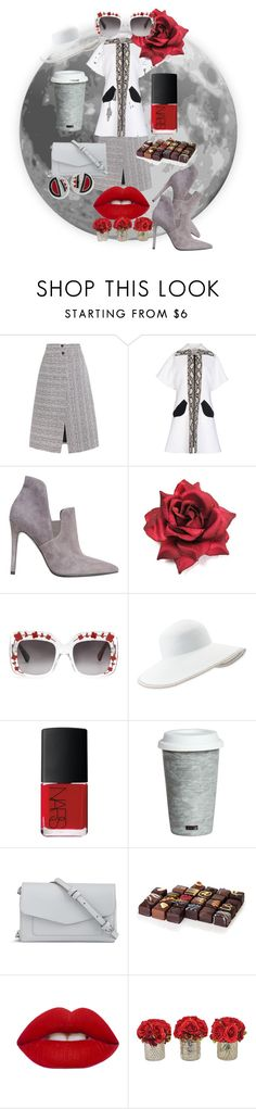 """""""The World Goes Round!"""" by flippintickledinc ❤ liked on Polyvore featuring Carven, Kendall + Kylie, Gucci, Eric Javits, NARS Cosmetics, Fitz & Floyd, Vera Bradley, Lime Crime and Kenneth Jay Lane"""