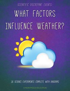 Such an awesome resource! Weather is all around us and as it takes more of a center stage in our news media and our minds it will be even more important that our students know what causes weather phenomena.