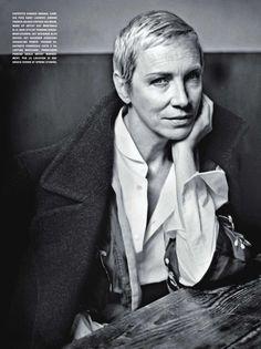Stunning New Pictures Of Annie Lennox In October Issue Of L'Uomo From Italy - Ultimate Eurythmics: - 2011 Luomo Vogue Annie Lennox P6