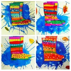 Ideas Spring Art Projects For Kids Student Kindergarten Art Education Projects, School Art Projects, Autumn Crafts, Autumn Art, Kindergarten Art, Preschool Art, Middle School Art, Art School, Spring Art Projects