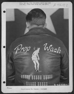 bomber jackets from WWII