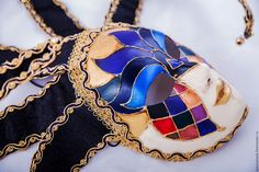 """Купить Карнавальная маска """"Jelly"""" - комбинированный, венецианская маска, маска, карнавальная маска, карнавал, венеция"""