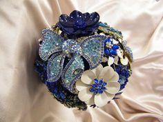 "The ""Kimberley"" Crystal Brooch Bouquets Inc."