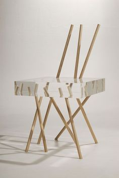 Stick Chair by Emmanuelle Moureaux - Dezeen