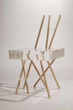 Stick Chair by Emmanuelle Moureaux - Dezeen