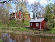"Lagstadin kotiseututalo"" (in english maybe Lagstads homedistricthouse), Espoo, Finland Cities In Finland, Urban City, Helsinki, Aurora, Buildings, Cottage, Joy, English, Island"