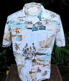 b3f38c06 Hawaiian Shirt M pit to pit 23
