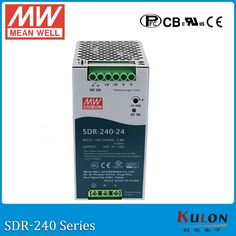 112.80$  Watch here - http://ali2w0.worldwells.pw/go.php?t=32768226391 - Original MEAN WELL SDR-240-48 Single Output 240W 48V 7.5A Industrial DIN Rail Power Supply SDR-240 with PFC