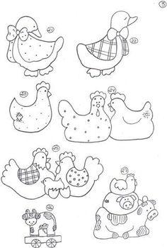 Oche e gallinelle