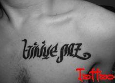 #VinniePaz #HennaTattoo #Rap