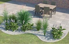 Kies und Pflanzen vertragen sich gut. Wir zeigen ganz viele Kombinationsmöglichkeiten.